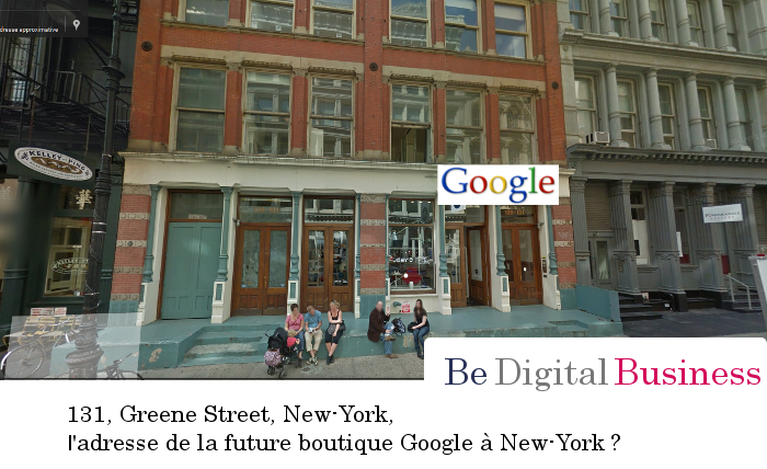 Google : 1ère boutique à New-York ?