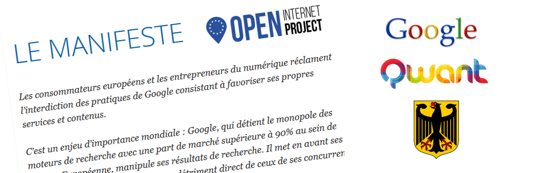 Google, Open Internet Project, Qwant et algorithme